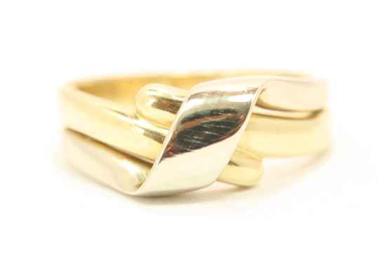 Gouden Ring (Bi-Color Nmr-01)