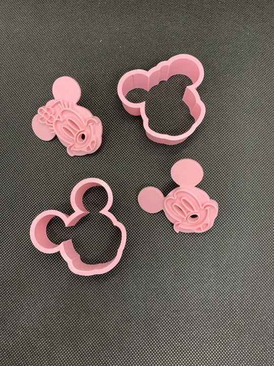 M. Mouse cookie cutter set M7