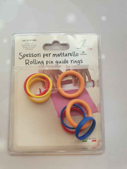 Rolling pin guide rings GR86