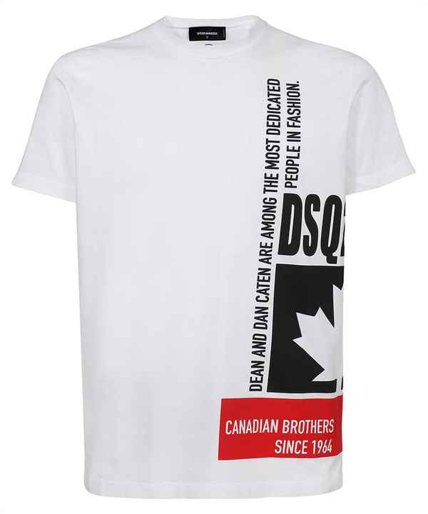 Dsquared2 canadian brothers T-shirt SS21