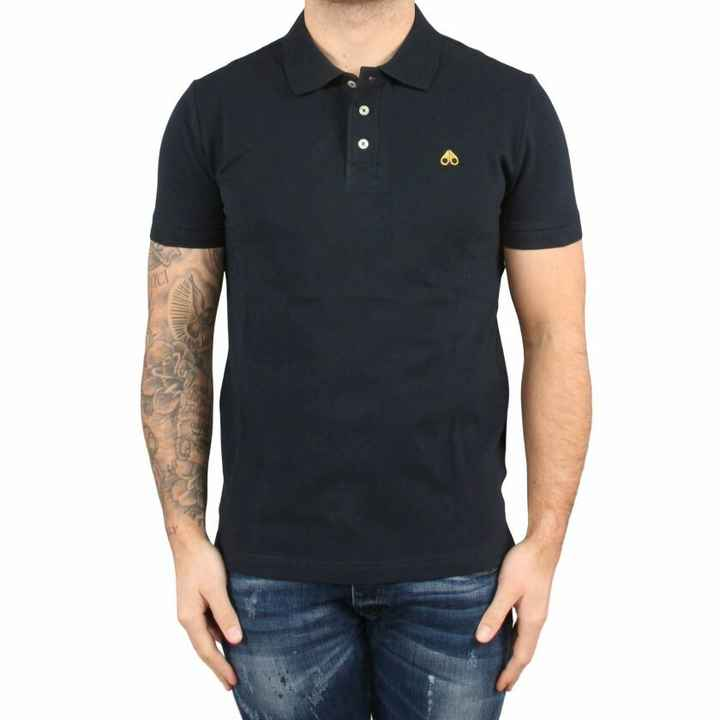 Moose Knuckles polo black SS21