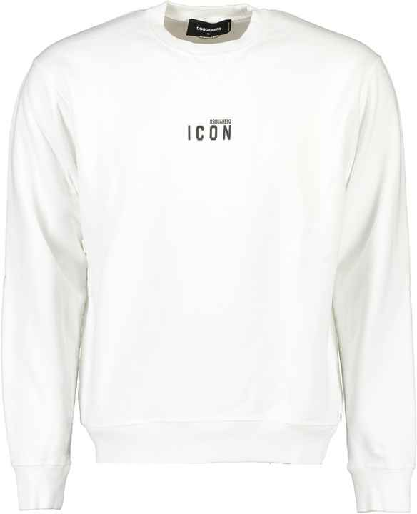Dsquared2 white icon sweater SS21