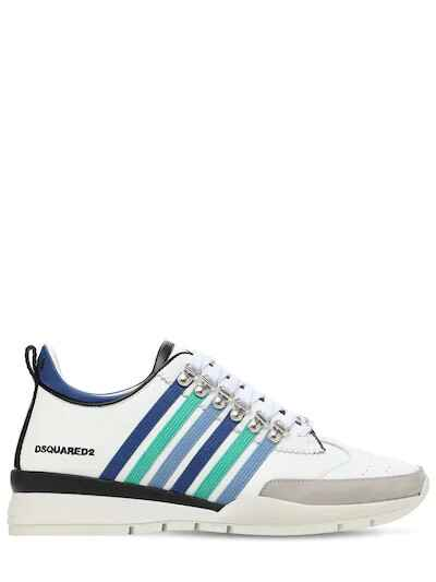 Dsquared2 sneaker 251 blue rainbow SS21