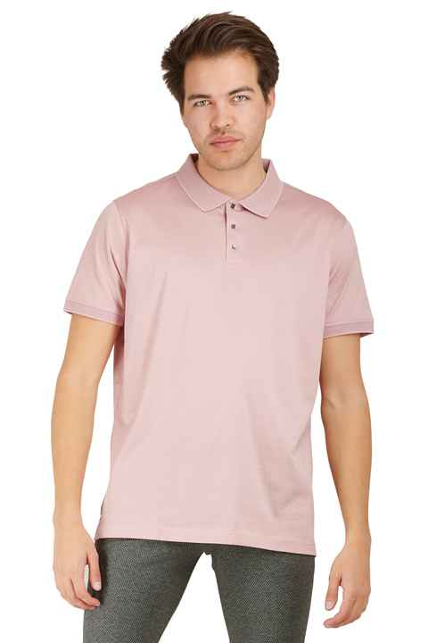 Karl lagerfeld pink polo SS21