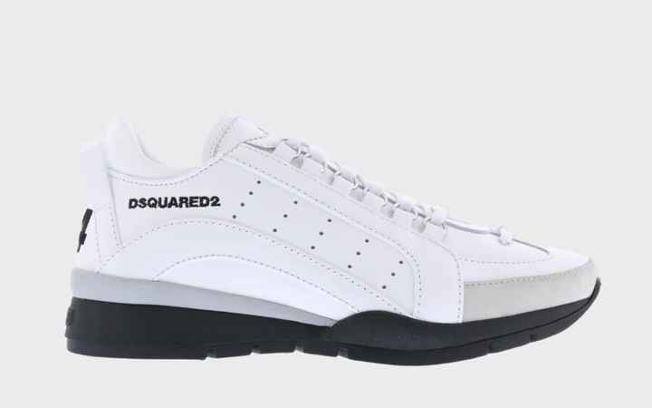 New Dsquared 551 sneaker white SS21