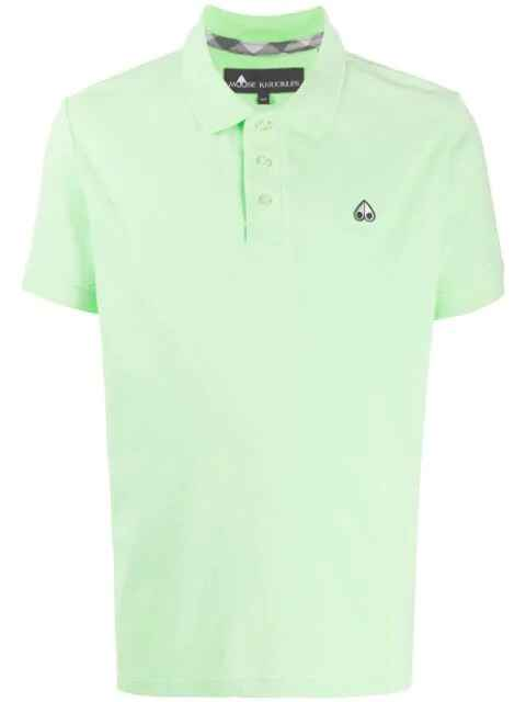 Moose Knuckles polo lime SS21