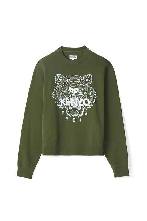Kenzo tiger sweater green SS21