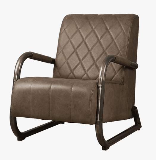 Rach fauteuil taupe