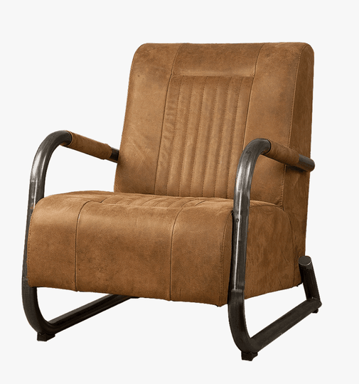 Barn fauteuil brown