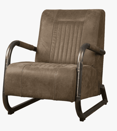 Barn fauteuil taupe