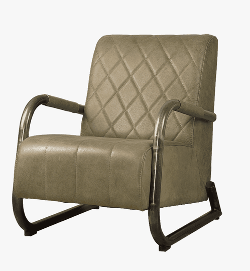 Ranch fauteuil olive