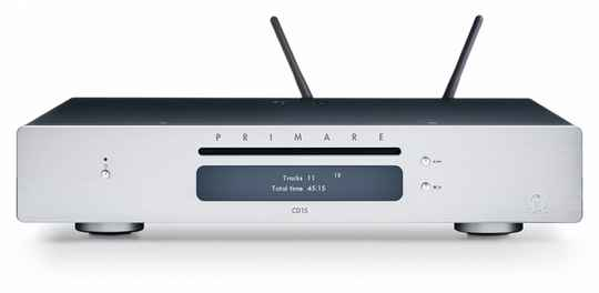 Primare CD 15 and Networkplayer