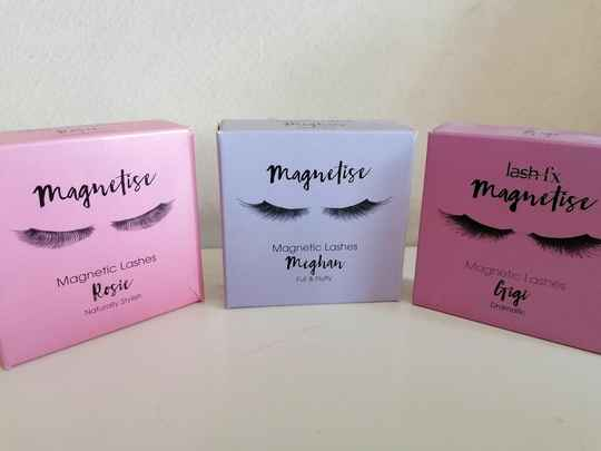 MAGNETIC EYELASHES 1&2 Magneten