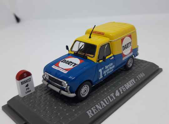 Renault 4 f6 Darty 1986