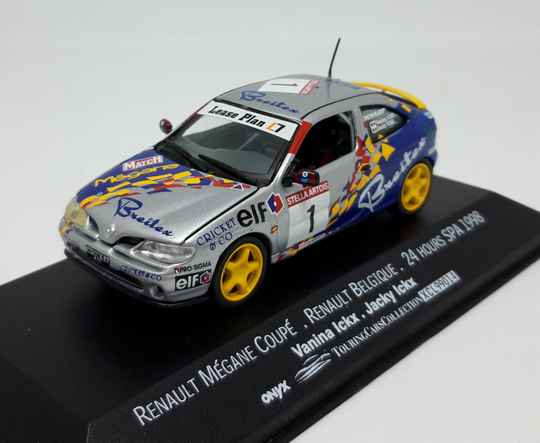 Renault Megane Coupe 1998 24 hours SPA