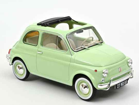 Fiat 500 L 1968 - Light green with special BIRTH pack