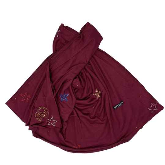 Bylima sea star bordeaux-multicolor ss19