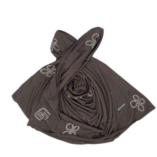 Bylima 3d butterfly dark brown ss19