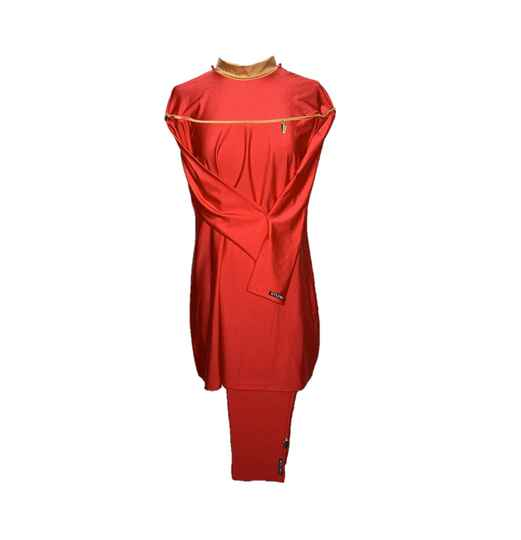 BYLIMA BURKINI SS19 LIMITED RED