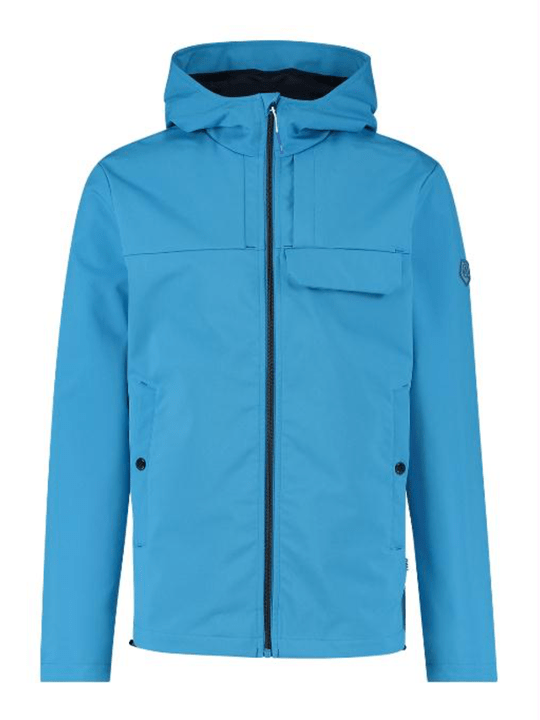 Qubz Jacket Mid Long Hooded Stretch