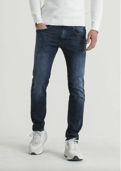 Replay Anbass - Hyperflex Dark stretch denim