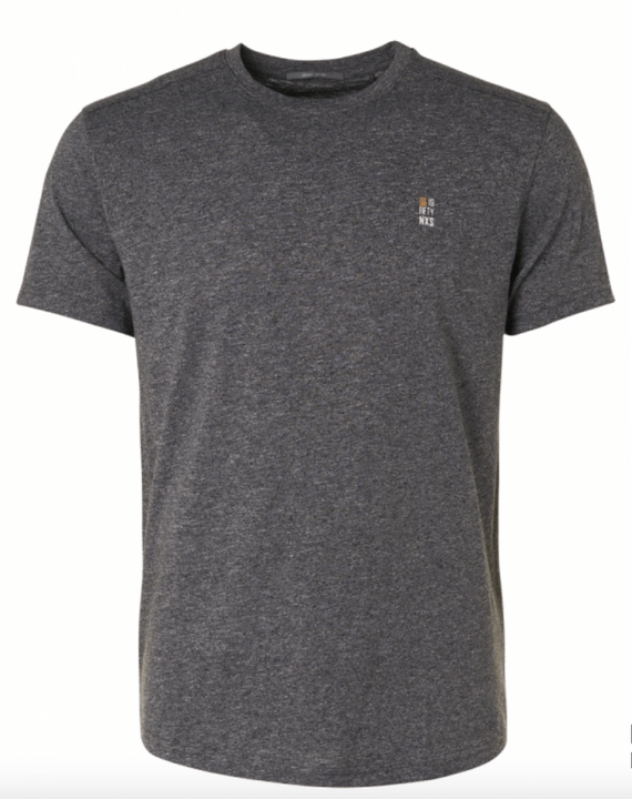 No-Excess T-Shirt Melange organic Grey