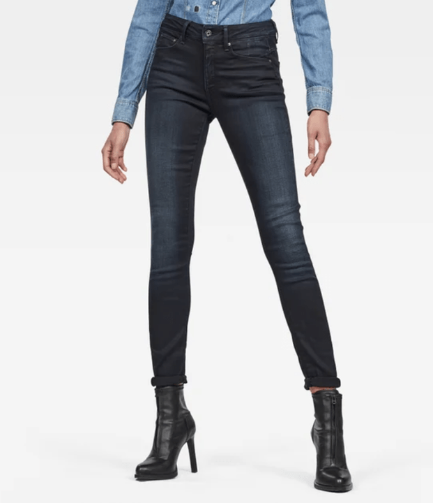 G-STAR 3301 High Waist Skinny Jeans