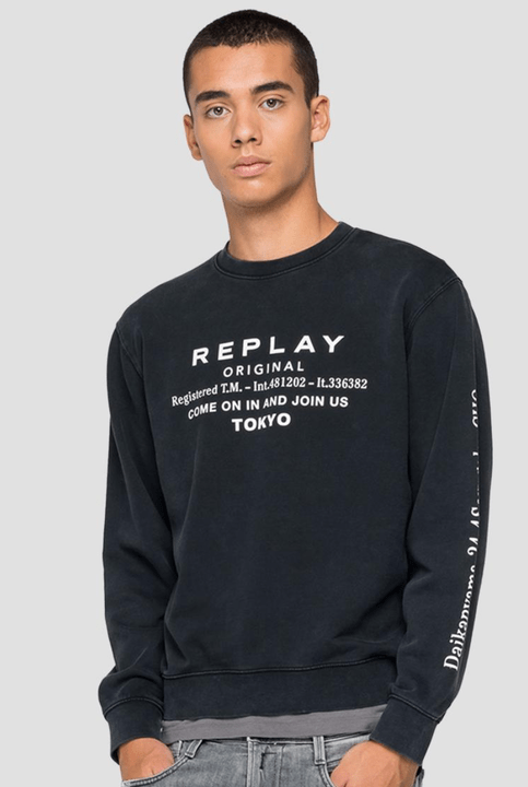 Replay sweatshirt Crewneck