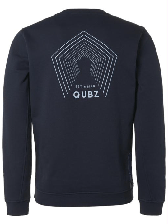 Qubz Sweater Crewneck Back Print