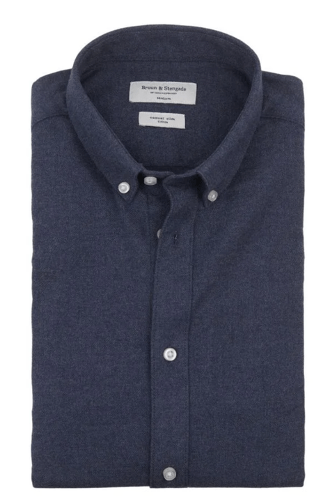 Bruun&Stengade Slim Fit Shirt Blue