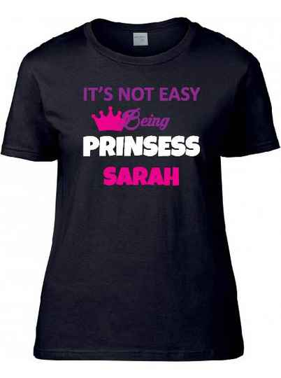 Its not easy being prinsess sarah.
