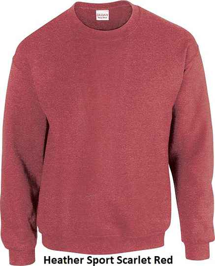 Sweater Heather Sport Scarled Red