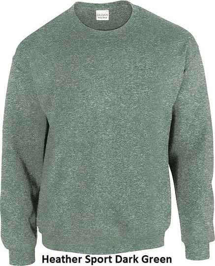 Sweater Heather Sport Dark Green
