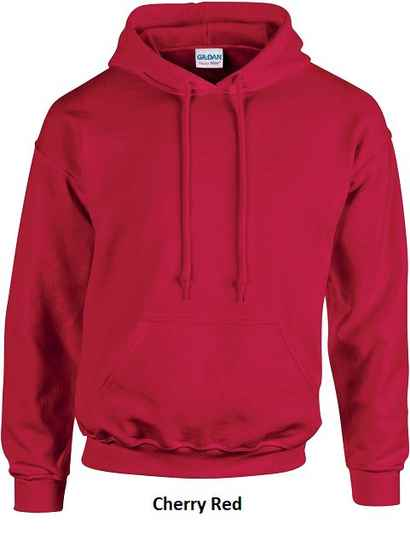 Hooded Cherry Red