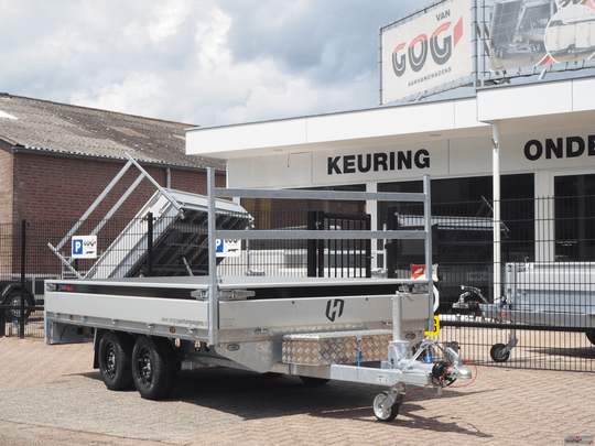 Henra Xpert plateauwagen 351x185 2700kg full options