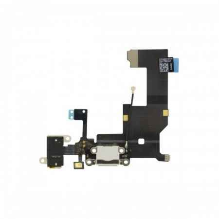 iPhone 5 Audio Dock Connector Oplaadpunt Wit en Zwart