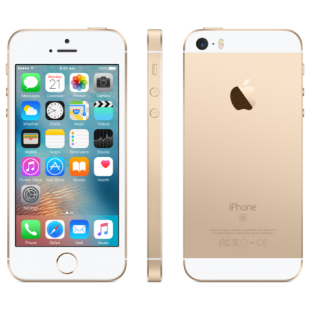 Refurbished Apple iPhone SE 64GB Goud