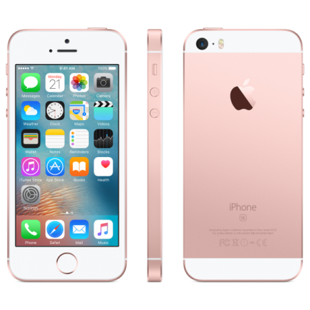 Refurbished Apple iPhone SE 64GB Rosé Goud
