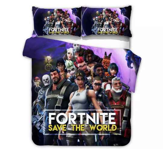 Fortnite Collectie, Beddengoed, Met Kussensloop