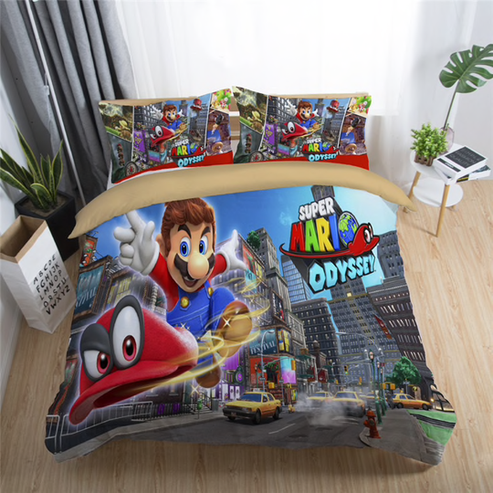 Super Mario Collectie, Beddengoed, Met Kussensloop