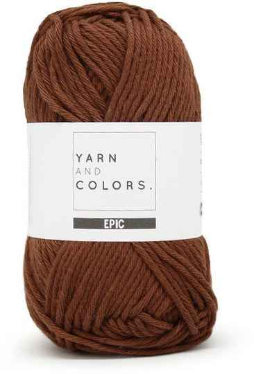 Yarn and colors Epic 027 brunet