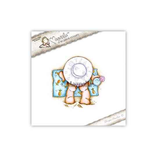 Magnolia Stamp -2018-PP 01 Toes In The Sand Tilda