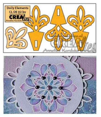 Crealies Doily Elements no. 02