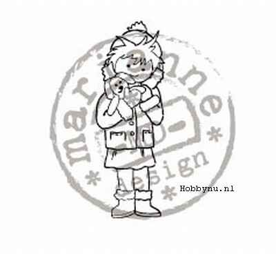 Marianne Design Clear Stamp Little Sweetheart TC0825