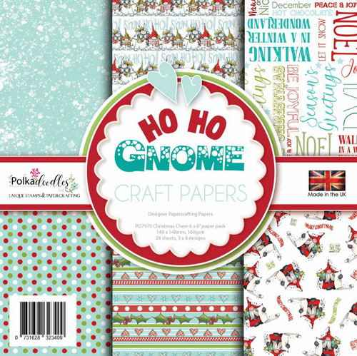 Polkadoodles Paperpack Ho Ho Gnome - PD7970