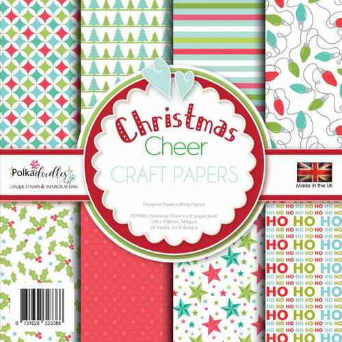 Polkadoodles Paperpack Christmas Cheer - PD7968