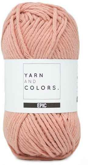 Yarn and colors Epic 101 rose