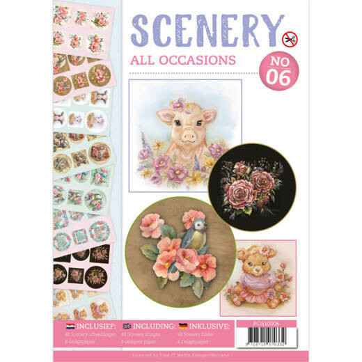 Push Out book Scenery 1 - Spring