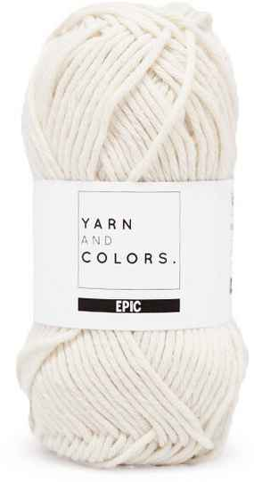 Yarn and colors Epic 002 cream
