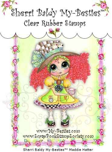 MB 12 Clear Rubber Stamps Maddie Hatter My-Besties